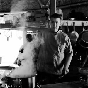 The new cook from Kangerlussuaq.