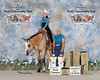 """Susan Duffy - from Watertown, WI<br /> with """"KCees Lethal Rodeo""""<br /> Amateur Select Champion<br /> <br /> No. 4964"""