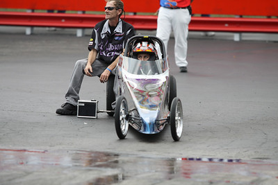Pro Junior Dragster Staging Lanes