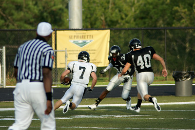 081310 AHS Raiders Varsity Intersquad Scrimmage 007