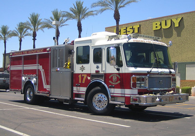 E17 2006 ALF Eagle mid-engine rear-pump 1250gpm 500gwt 80gft CAFS #631060 (ps)