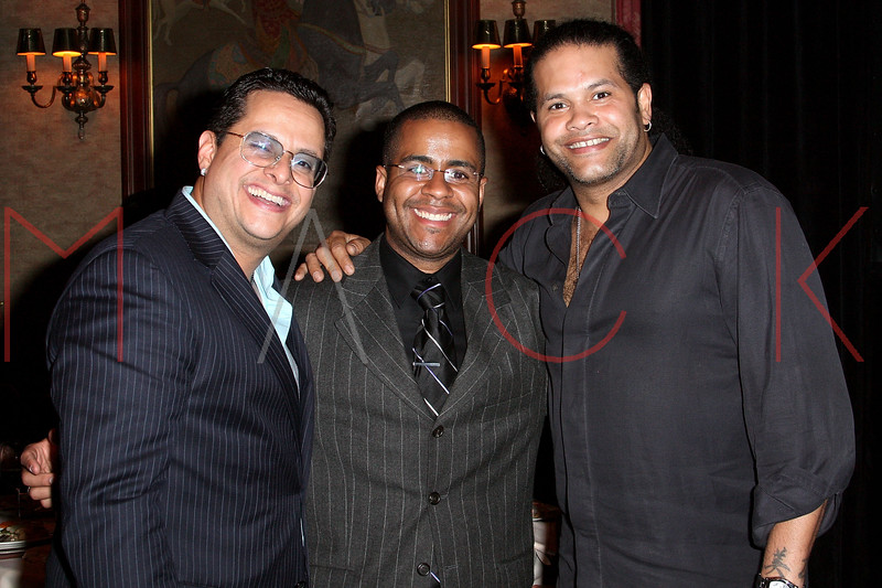 NEW YORK - APRIL 26:  Tito Puente, Jr., Willy Rodriguez and Giorgio Alicea attend the 2nd Annual National Meningitis gala at the New York Athletic Club on April 26, 2010 in New York City.  (Photo by Steve Mack/S.D. Mack Pictures) *** Local Caption *** Tito Puente; Jr.; Willy Rodriguez; Giorgio Alicea