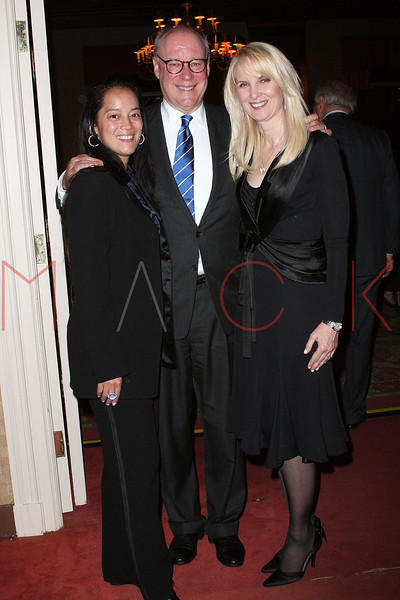 NEW YORK - APRIL 26:  Bridie Brady, Robert Lyster and Sara Herbert-Galloway attend the 2nd Annual National Meningitis gala at the New York Athletic Club on April 26, 2010 in New York City.  (Photo by Steve Mack/S.D. Mack Pictures) *** Local Caption *** Bridie Brady; Robert Lyster; Sara Herbert-Galloway