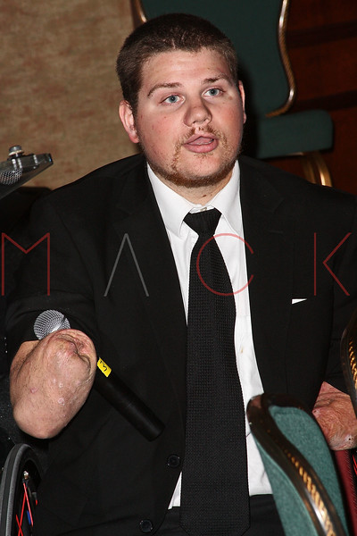 NEW YORK - APRIL 26:  Para-Olympic Gold Medalist, Nick Springer attends the 2nd Annual National Meningitis gala at the New York Athletic Club on April 26, 2010 in New York City.  (Photo by Steve Mack/S.D. Mack Pictures) *** Local Caption *** Nick Springer