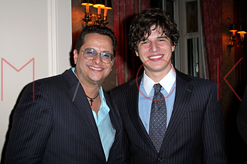NEW YORK - APRIL 26:  Tito Puente, Jr. and Justin Galloway attend the 2nd Annual National Meningitis gala at the New York Athletic Club on April 26, 2010 in New York City.  (Photo by Steve Mack/S.D. Mack Pictures) *** Local Caption *** Tito Puente; Jr.; Justin Galloway