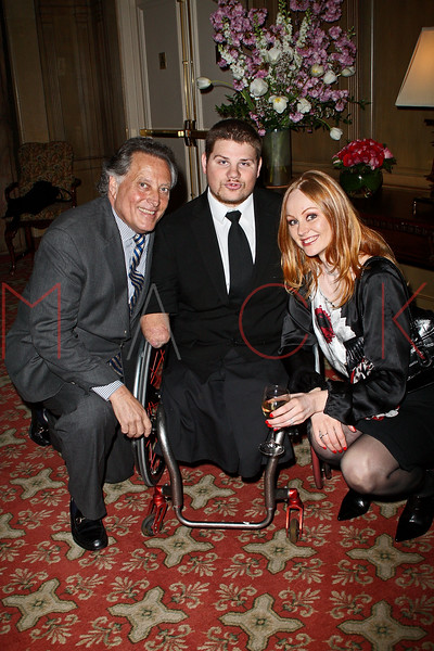 NEW YORK - APRIL 26:  Errol Rappaport Para-Olympic Gold Medalist, Nick Springer and Ulrika 'Red' Nilsson attends the 2nd Annual National Meningitis gala at the New York Athletic Club on April 26, 2010 in New York City.  (Photo by Steve Mack/S.D. Mack Pictures) *** Local Caption *** Errol Rappaport; Nick Springer; Ulrika 'Red' Nilsson