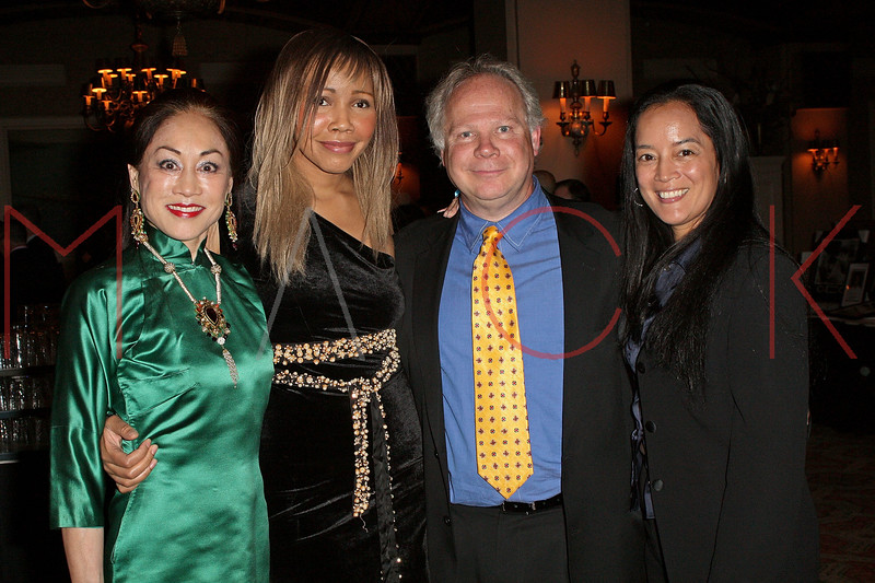 NEW YORK - APRIL 26:  Lucia Hwong Gordon, Tia Walker, Gary Springer and Cassandra Seidenfeld attend the 2nd Annual National Meningitis gala at the New York Athletic Club on April 26, 2010 in New York City.  (Photo by Steve Mack/S.D. Mack Pictures) *** Local Caption *** Lucia Hwong Gordon; Tia Walker; Gary Springer; Cassandra Seidenfeld