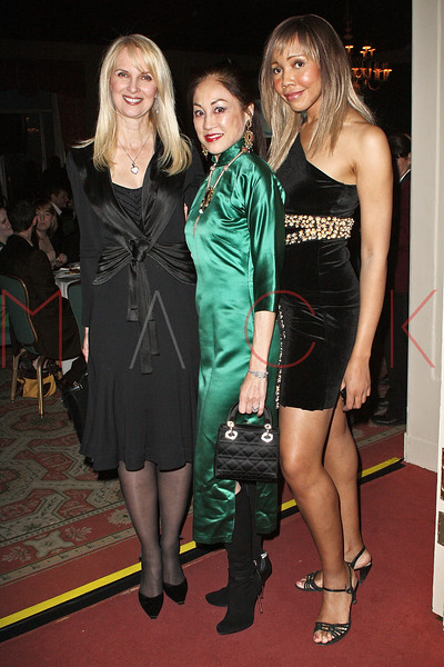 NEW YORK - APRIL 26:  Sara Herbert-Galloway, Lucia Hwong Gordon and Tia Walker attend the 2nd Annual National Meningitis gala at the New York Athletic Club on April 26, 2010 in New York City.  (Photo by Steve Mack/S.D. Mack Pictures) *** Local Caption *** Sara Herbert-Galloway; Lucia Hwong Gordon; Tia Walker