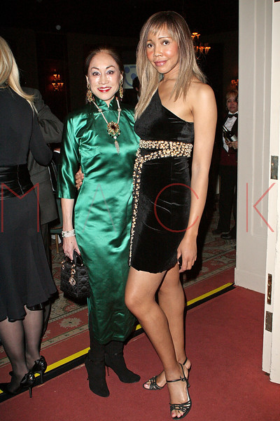 NEW YORK - APRIL 26:  Lucia Hwong Gordon and Tia Walker attend the 2nd Annual National Meningitis gala at the New York Athletic Club on April 26, 2010 in New York City.  (Photo by Steve Mack/S.D. Mack Pictures) *** Local Caption *** Lucia Hwong Gordon; Tia Walker