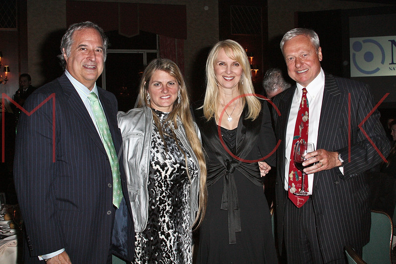 NEW YORK - APRIL 26:  Stewart F. Lane, Bonnie Comley, Sara Herbert-Galloway and Hans Amell attend the 2nd Annual National Meningitis gala at the New York Athletic Club on April 26, 2010 in New York City.  (Photo by Steve Mack/S.D. Mack Pictures) *** Local Caption *** Stewart F. Lane; Bonnie Comley; Sara Herbert-Galloway; Hans Amell
