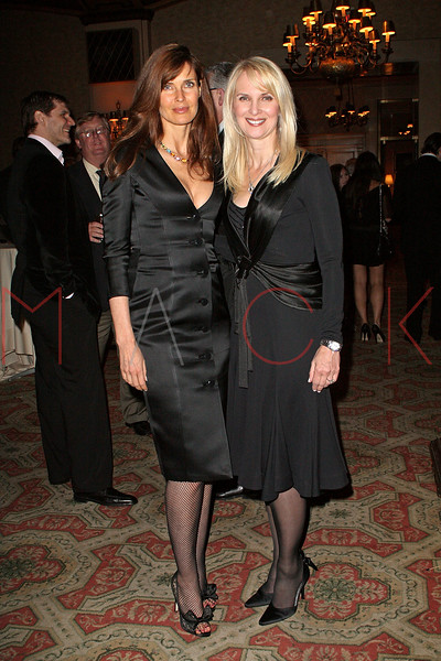 NEW YORK - APRIL 26:  Model Carol Alt and Sara Herbert-Galloway attend the 2nd Annual National Meningitis gala at the New York Athletic Club on April 26, 2010 in New York City.  (Photo by Steve Mack/S.D. Mack Pictures) *** Local Caption *** Carol Alt; Sara Herbert-Galloway