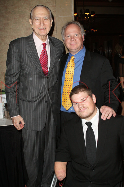 NEW YORK - APRIL 26:  Former U.S. Ambassador to Denmark John L. Loeb, Jr., Gary Springer and Para-Olympic Gold Medalist, Nick Springer attend the 2nd Annual National Meningitis gala at the New York Athletic Club on April 26, 2010 in New York City.  (Photo by Steve Mack/S.D. Mack Pictures) *** Local Caption *** John L. Loeb; Jr.; Gary Springer; Nick Springer
