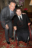 NEW YORK - APRIL 26:  Errol Rappaport and Para-Olympic Gold Medalist, Nick Springer attend the 2nd Annual National Meningitis gala at the New York Athletic Club on April 26, 2010 in New York City.  (Photo by Steve Mack/S.D. Mack Pictures) *** Local Caption *** Errol Rappaport; Nick Springer