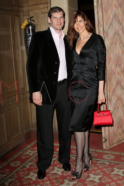 NEW YORK - APRIL 26:  Professional ice hockey player Alexei Valeryevich Yashin and Model Carol Alt attend the 2nd Annual National Meningitis gala at the New York Athletic Club on April 26, 2010 in New York City.  (Photo by Steve Mack/S.D. Mack Pictures) *** Local Caption *** Alexei Valeryevich Yashin; Carol Alt