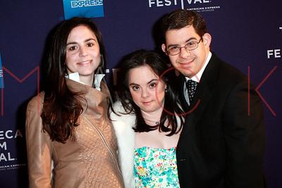 New York, NY - April 24:  The Monica & David premiere, New York, USA.