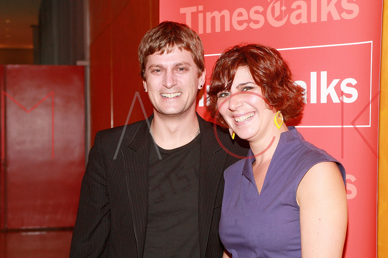 NEW YORK - APRIL 08:  Singer Rob Thomas and NY Times writer Melena Ryzk attend A Conversation About Music at TheTimesCenter on April 8, 2010 in New York City.  (Photo by Steve Mack/S.D. Mack Pictures) *** Local Caption *** Rob Thomas; Melena Ryzk