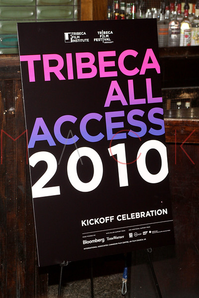 TAA Kick Off Event at the 9th Annual Tribeca Film Festival, New York, USA