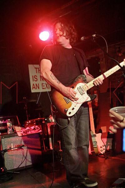 John Wozniak of Marcy Playground performs at Mercury Lounge, New York, USA