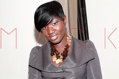 New York, NY - February 15:  The Korto Momolu Fall 2010 fashion show during Mercedes-Benz Fashion Week, New York, USA.