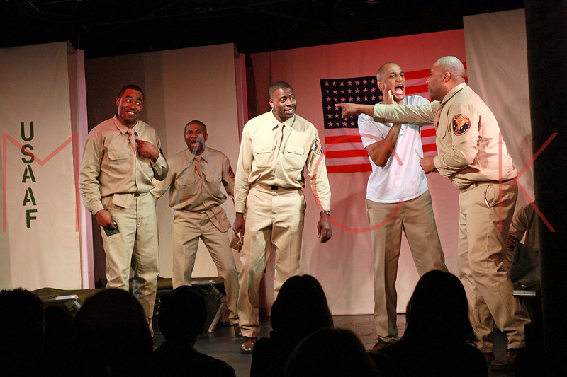 """opening night of """"Black Angels Over Tuskegee"""", New York, USA"""