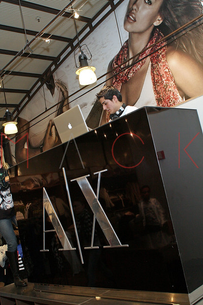 NEW YORK - FEBRUARY 06:  DJ Chopps performs during Rock & Shop at the Armani Exchange store on February 6, 2010 in New York City.  (Photo by Steve Mack/S.D. Mack Pictures) *** Local Caption *** DJ Chopps