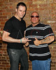 """NEW YORK - JULY 17:  Actor Keith Collins and TV Personality Gregg Valentino, TLC Network's """"Man With Exploding Arms"""" attends the """"Psycho-Path"""" cast party at Foundation on July 17, 2010 in New York City.  (Photo by Steve Mack/S.D. Mack Pictures) *** Local Caption *** Keith Collins; Gregg Valentino"""