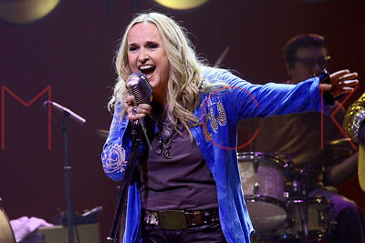 "New York, NY - June 23 2010:  Melissa Etheridge, performs on stage at The Wednesday, Jun 23, 2010 ""Million Dollar Quartet"" show at Nederlander Theatre."