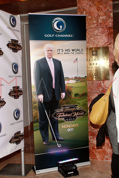 "screening of ""Donald J. Trump's Fabulous World Of Golf"", New York, USA"