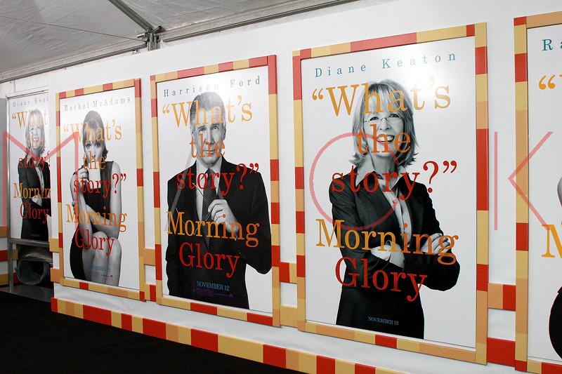 """Morning Glory"" world premiere, New York, USA"