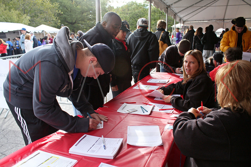New York - October 16: Team Members attend The 2010 ALR Walk at Battery Park on Saturday, October 16, 2010 in New York, NY.  (Photo by Steve Mack/S.D. Mack Pictures)