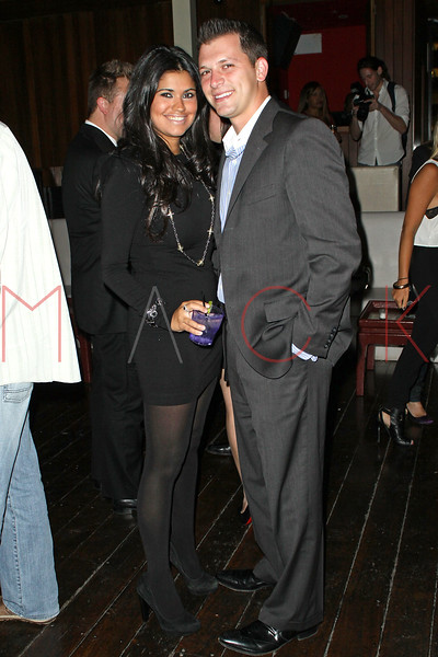 NEW YORK - SEPTEMBER 14:  Albie Manzo (R) attends the Trump Golf After Party at Hudson Terrace on September 14, 2010 in New York City.  (Photo by Steve Mack/S.D. Mack Pictures) *** Local Caption *** Albie Manzo