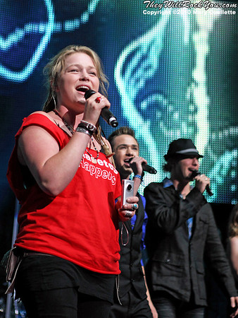 Crystal Bowersox performs during the American Idol Live show at the Comcast Center on July 18, 2010 in Mansfield, MA.