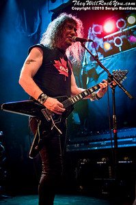 Anvil performing live at the House of Blues on Friday night, Feb. 5, 2010 in Hollywood, Calif. (Photo by Sergio Bastidas(Sini69 Photography)/Brooks Institute, ©2010)