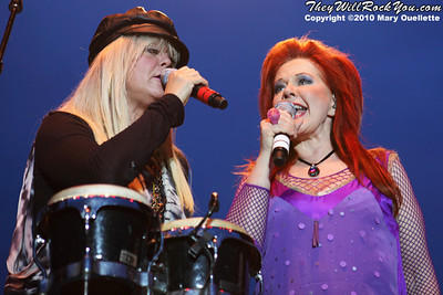 The B-52s perform at The Beale Street Music Festival in Memphis, TN on April 30, 2010.
