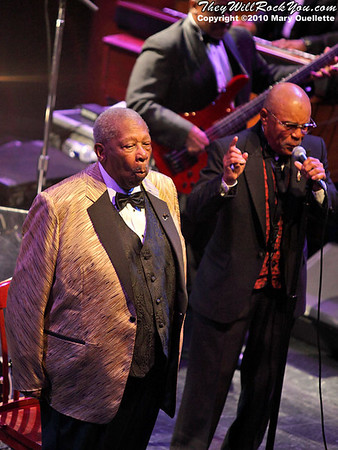 The legendary B.B. King performs on July 10, 2010 at the House of Blues in Boston, Massachusetts.