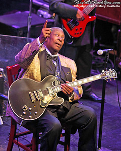 The legendary B.B. King performs on July 9, 2010 at the House of Blues in Boston, Massachusetts.