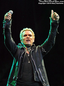 Billy Idol performs at the House of Blues on September 14, 2010 in Boston, MA