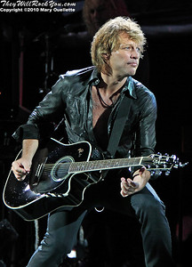 "Jon Bon Jovi performs on their  ""Circle Tour"" on July 24, 2010 at Gillette Stadium in Foxboro, MA."