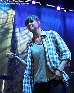 Cat Power performs on July 30, 2010 during Lilith Fair at the Comcast Center in Mansfield, Massachusetts