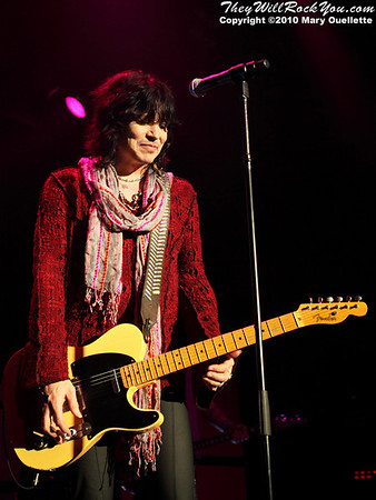 Tom Keifer of Cinderella performs on July 14, 2010 at the Hampton Beach Club Casino in Hampton Beach, NH.