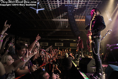 Jeff LaBar of Cinderella performs on July 14, 2010 at the Hampton Beach Club Casino in Hampton Beach, NH.