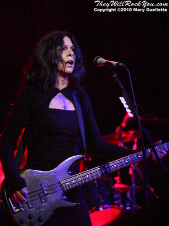 """Concrete Blonde kicks off """"The Vampires Rise Summer 2010"""" tour at Royale in Boston, MA on June 9, 2010."""