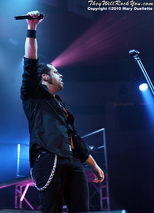 Daughtry performs at The Agannis Arena on March 20, 2010 in Boston, Massachusetts