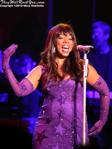 Donna Summer performs at the Bank of America Pavilion in Boston, MA on August 27, 2010.