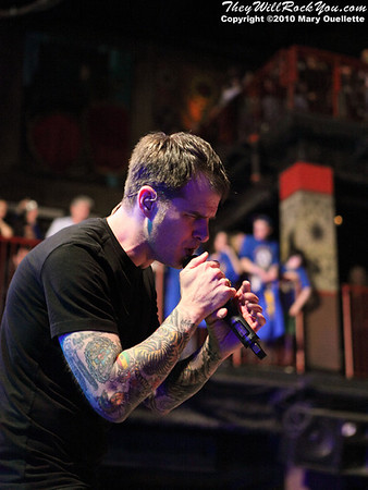 Dropkick Murphys perform on March 13, 2010 to a sold out crowd as part of an annual week long series of shows to sold out crowds at The House of Blues in Boston, Massachusetts