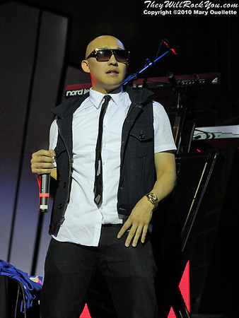 Far East Movement performs at the House of Blues in Boston, MA on November 15, 2010