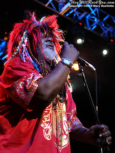 George Clinton and the Parliament Funkadelic perform at the House of Blues in Boston, MA on February 19, 2010