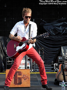 Gloriana performs at Gillette Stadium in Foxboro, MA on June 5, 2010.