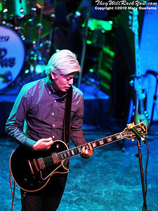 James Iha of the supergroup Tinted Windows performs at the Hot Stove Cool Music Benefit Show in Boston at the House of Blues on January 9, 2010