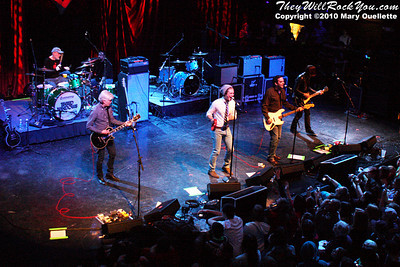 Supergroup Tinted Windows performs at the Hot Stove Cool Music Benefit Show in Boston at the House of Blues on January 9, 2010